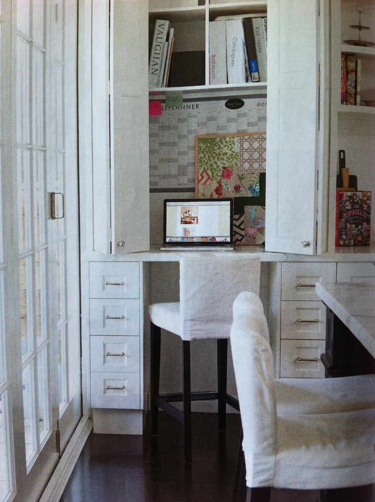 Study Nook in Kitchen