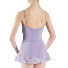 L58160G – Bloch Maya Rosette Hem Girls Dress