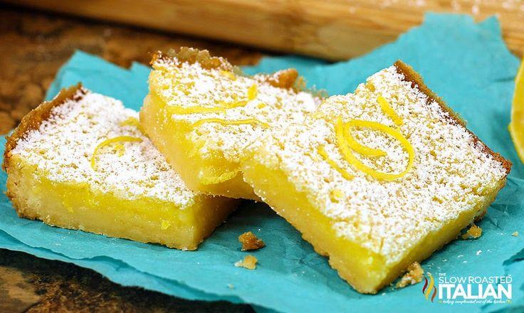Best Ever Easy Peazy Lemon Bars