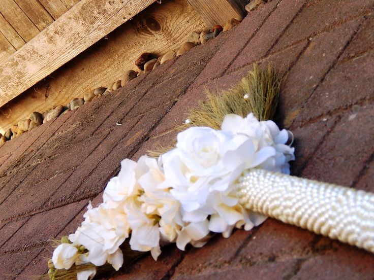 Love is universal-Wedding jumping brooms are used in African, African American, Romany and Celtic wedding ceremonies to name a few. The way they are incorporated may vary but all symbolizes the union of two.