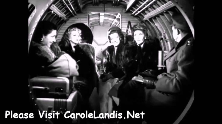 "Martha Raye Carole Landis Kay Francis Deleted Scene ""Wing And A Prayer"""