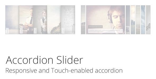 Accordion Slider - Responsive and Touch accordion  #codecanyon