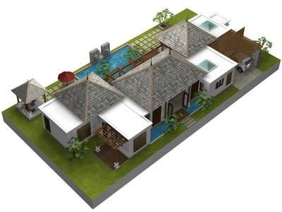 8 best Bali home plans images – Balinese House Designs And Floor Plans