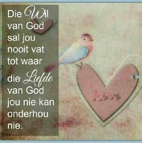 God se liefde - Afrikaans