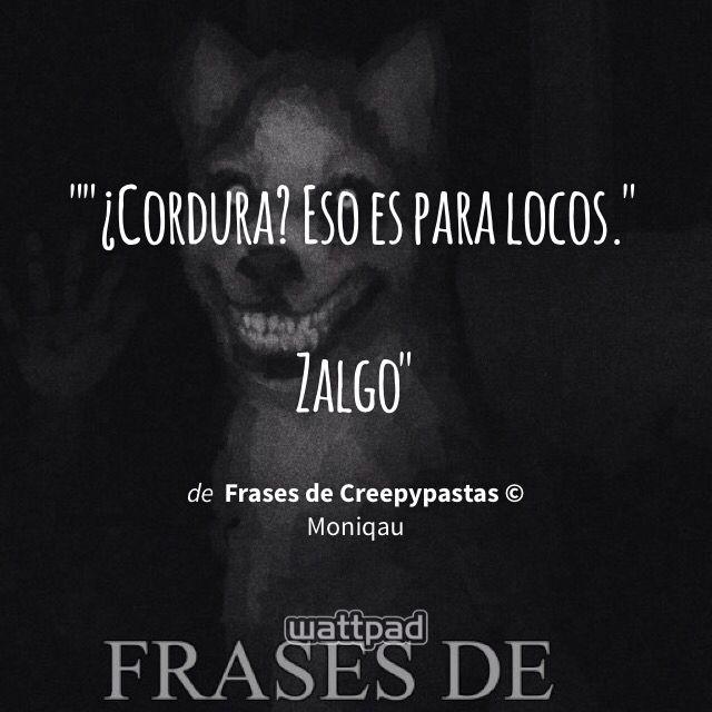 Frases de Creepypastas