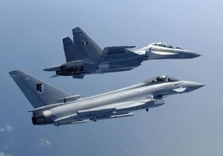 Su-30MKI VS Eurofighter Typhoon