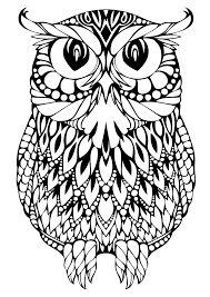 Image result for раскраска антистресс животные сова ...