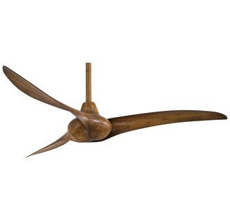 """View the MinkaAire Wave 52"""" 3 Blade Indoor Ceiling Fan with Blades Included at Build.com."""