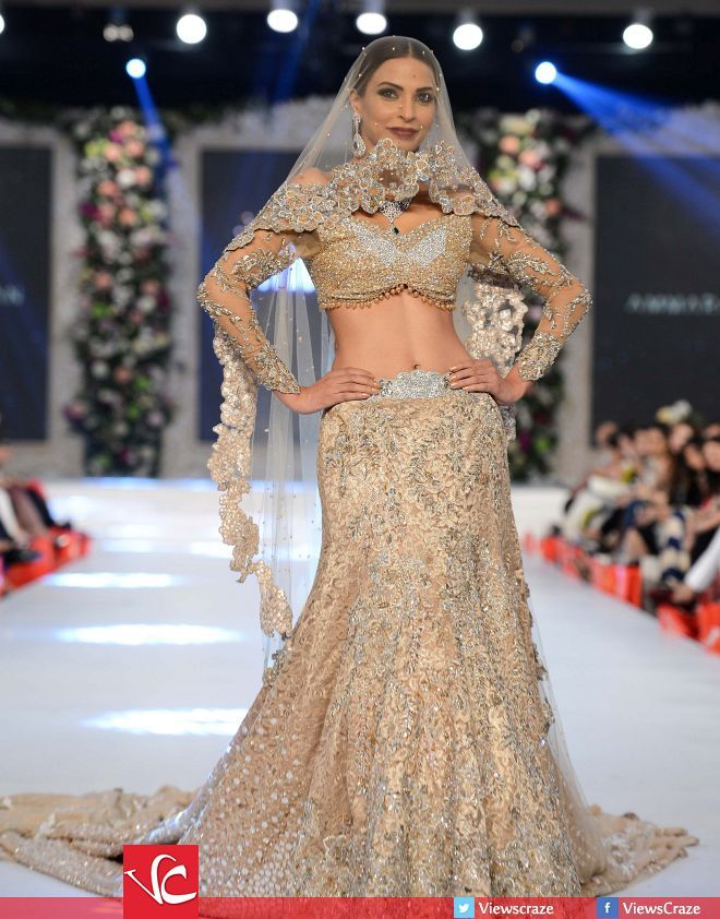 Ammara Khan's Collection at PFDC L'Oréal Paris Bridal Week 2015 Day 3