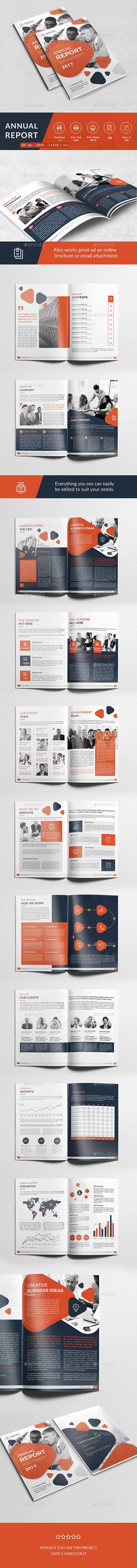 Annual Report by mondoo Annual Report template Professional, clean and modern 22 page corporate Annual report . Just drop in your own pictures and texts,