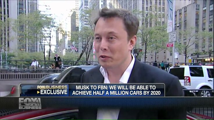Elon Musk says that TESLA will be in 2020 the largest car manufacturer i...