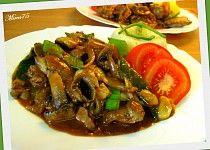 Kuřecí játra s protlakem a zeleninou