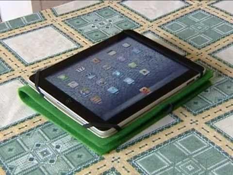 Как можно сделать и сшить чехол для планшета своими руками.