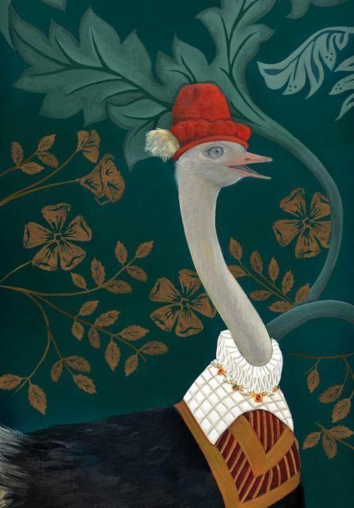 Les papiers peints de Sandrine Chambéry