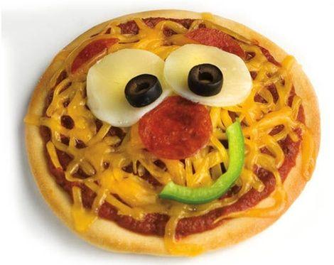 mini pizzas divertidas - Buscar con Google