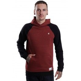 Etnies - Classic Red/Brown - Hoodie - Streetwear Online Shop - Impericon.com