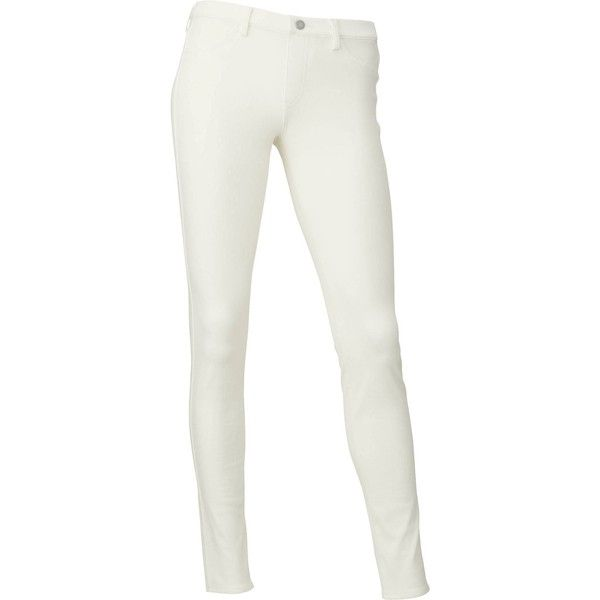 UNIQLO Leggings Trousers ($23) ❤ liked on Polyvore featuring pants, off white, stretch pants, uniqlo, stretchy pants, off white pants and uniqlo pants