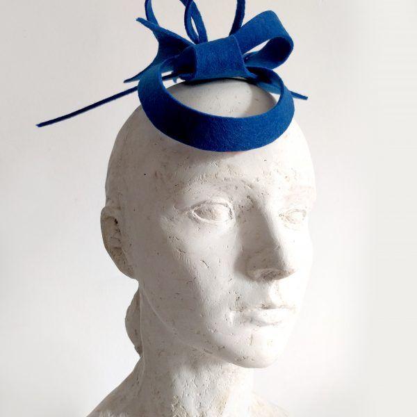MARA Fascinator hat made by Eventivity Accessorize