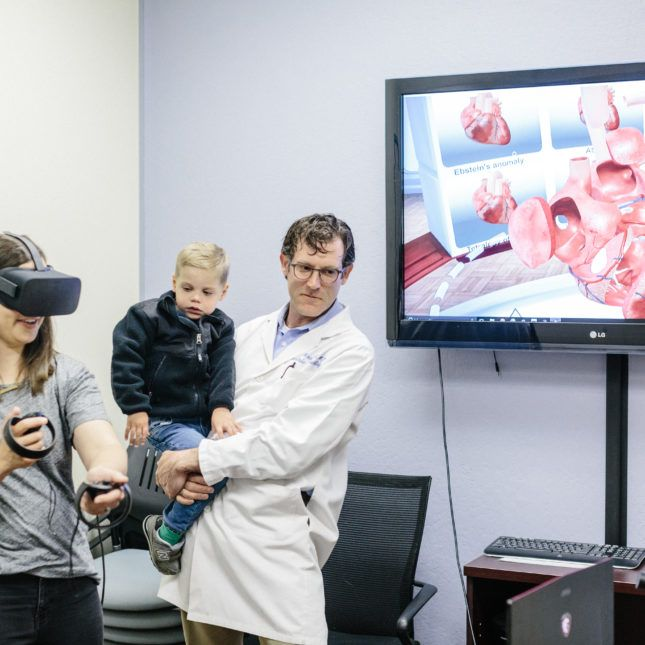 Virtual reality could soon supplement conventional imaging for heart doctors and surgeons and reduce reliance on cadaver dissection for teaching.