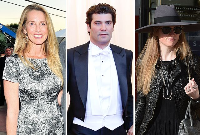 Laurene Powell Jobs and David Geffen make the list.
