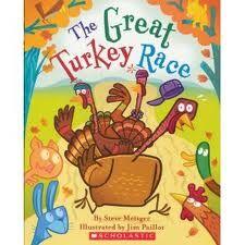 The Great Turkey Race by Steve Metzger