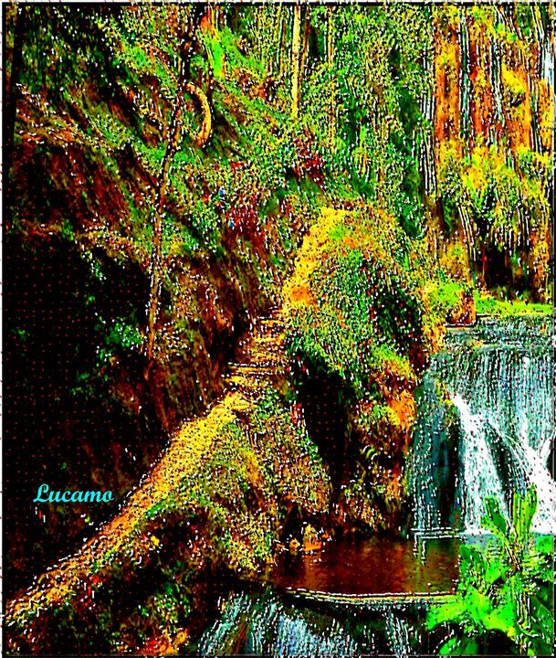 Colombian Landscape - Lucamo: Creating with images