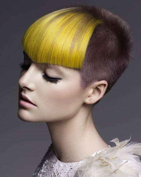 yellow hair style 25 best ideas about pin back bangs on pinned 3634