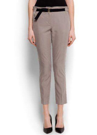 Mango Women's Utilitary Sartorial Trousers, Mystery, L Mystery L MANGO. $59.99
