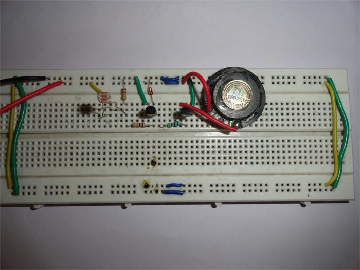 light sensor circuit using ldr pdf