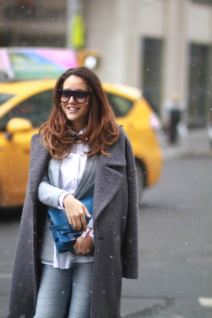 Tamara Kalinic Street style, New York 2015