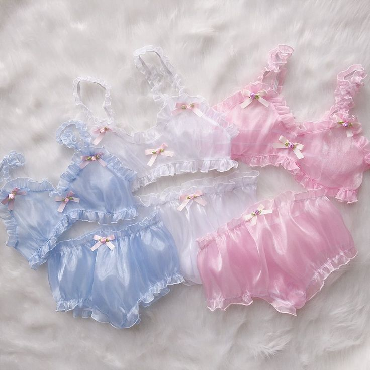 "Lolita kawaii net yarn underwear/briefs 3 pieces SE10128        Coupon code ""cutekawaii"" for 10% off"