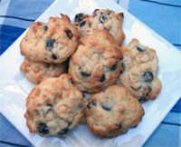 Choc-chip Cornflake Biscuits