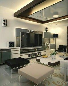 Indahnya ruang keluarga minimalis ini