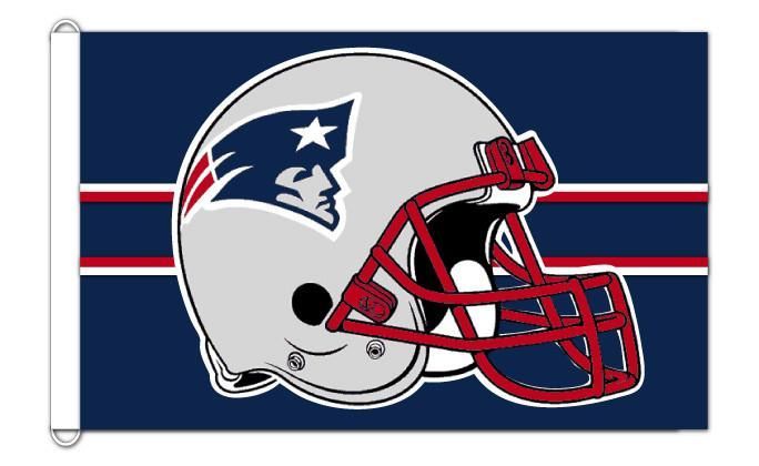 New England Patriots 3'x5' team banner flag