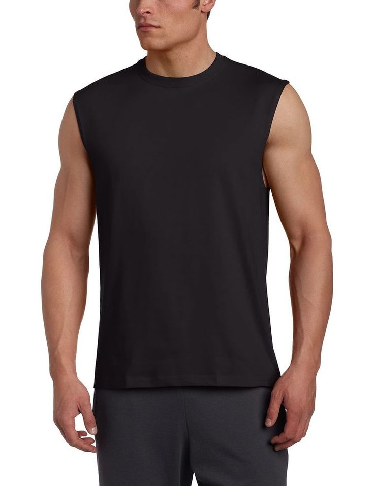 Russell Athletic Men's Cotton Muscle Shirt / 2 DAY SHIPPING #RussellAthletic #MuscleShirt