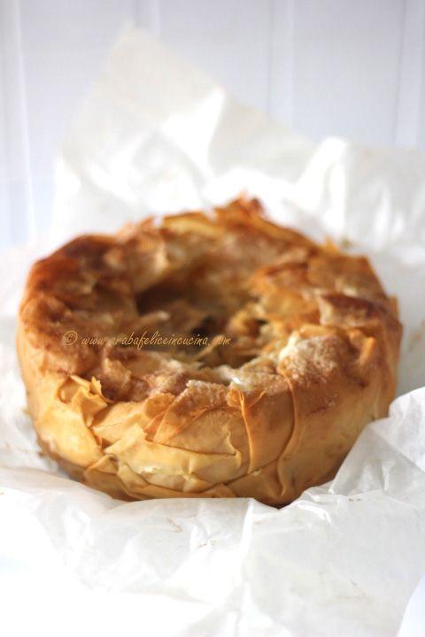 Arabafelice in cucina!: Torta croccante (e furbissima) alle mele!