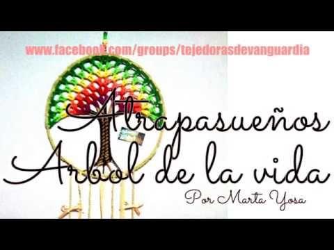 ÁRBOL DE LA VIDA EN CROCHET (CROCHET TREE OF LIFE) - YouTube