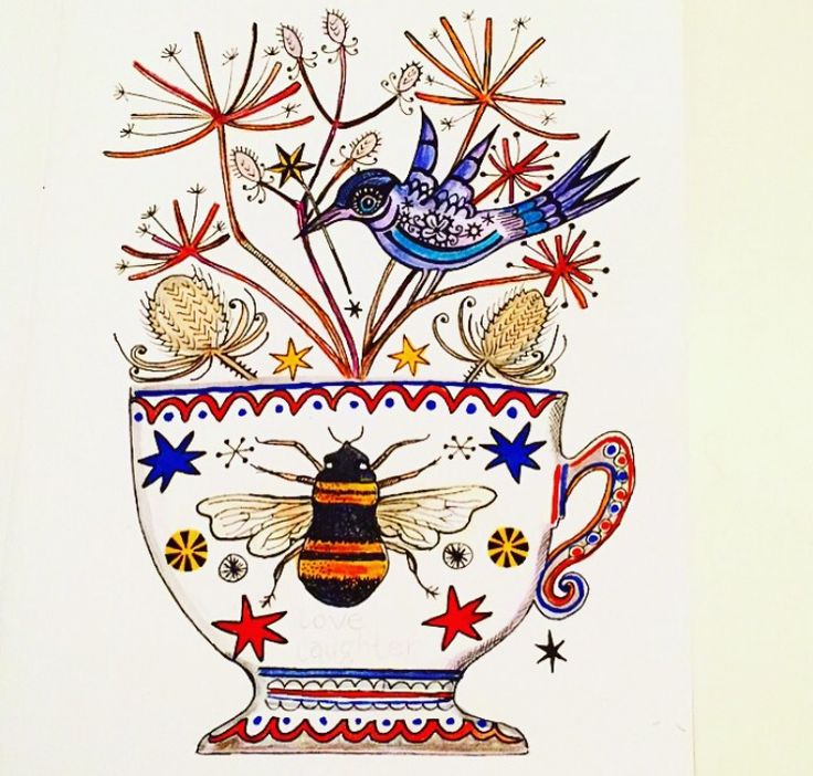 Storm In A Teacup illustration by Lizzie Reakes