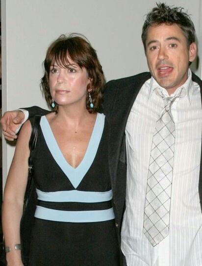Robert with sister All... Robert Downey Sr