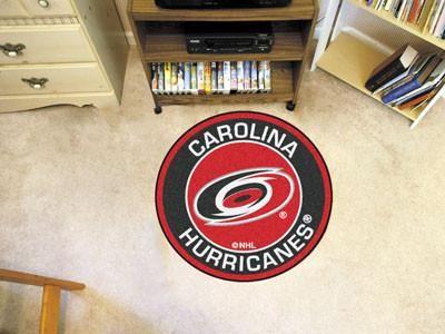 "Carolina Hurricanes Uniform Inspired Starter Rug 19""""x30"""""