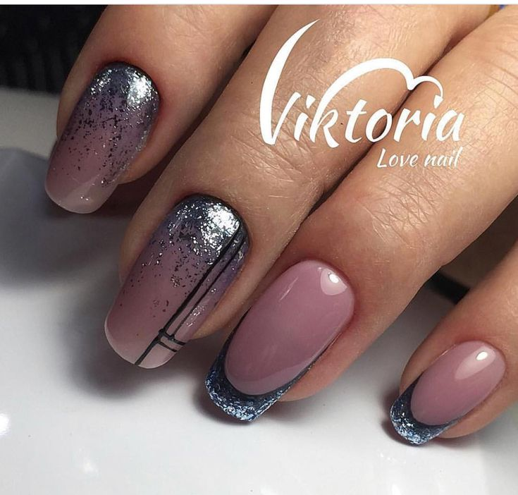 6418 Best Funky French Tip Nails Images On Pinterest
