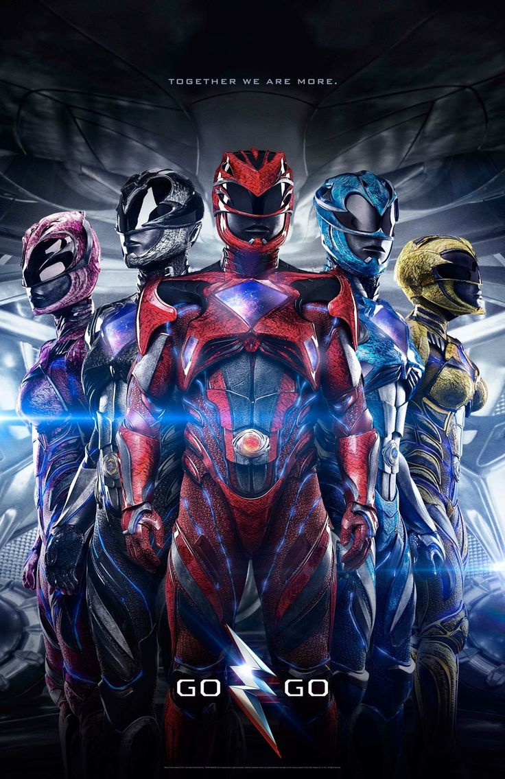 Power Rangers 2017 poster