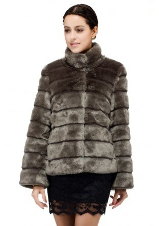 1000  images about Fashion faux fur woman clothing on Pinterest