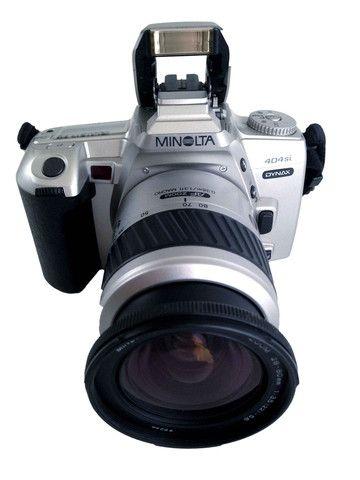 Minolta Dynax 404Si C/W 35-80mm – Junkie Charity Store