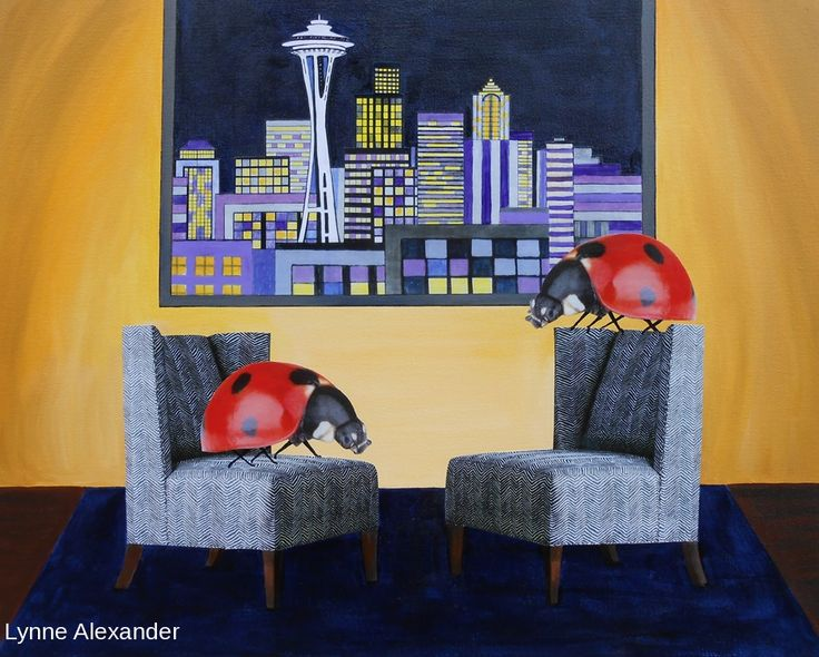 40 best Lynne Alexander Seattle Artist images on Pinterest | Seattle ...