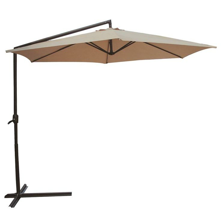 Offset Umbrella Umbrellas And Home Decor Baskets On Pinterest