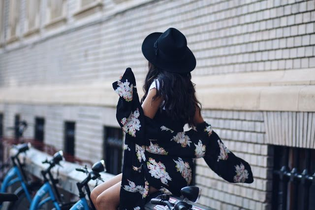 black hat and one festival outfit    Sandra Bendre