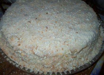 Торт-манник, рецепт с фото на кефире_готовый манник