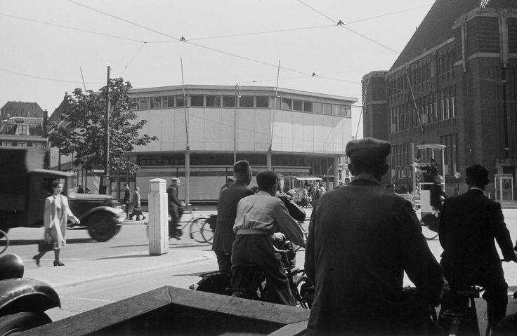 Utrecht - Neude - 1942 - fotograaf Nico Jesse