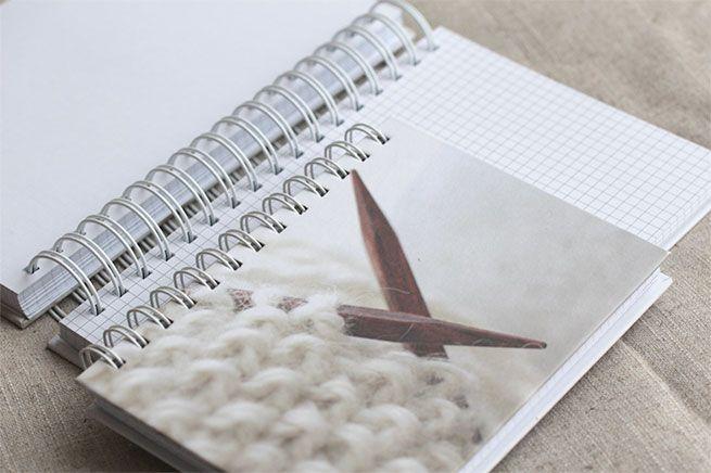 NYHET! Notatbøker for strikkedesignere